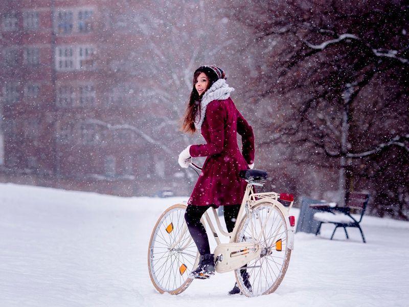 Las bicicletas también son para el invierno - Las bicicletas también son para el invierno